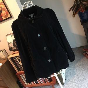Corduroy Plus Size Coat